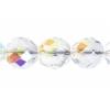 Fire polished 10mm Crystal Aurora Borealis